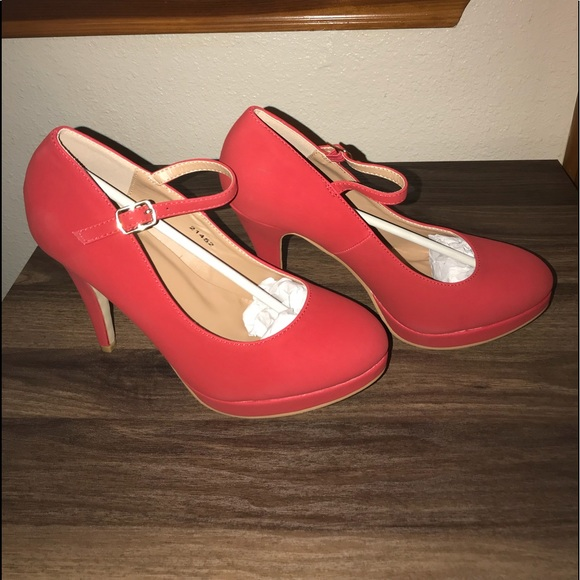 Journee Collection Shoes | Shelby Red